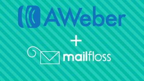aweber + mailfloss