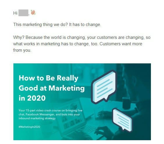 Write good email copy