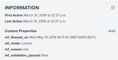 klaviyo email verification custom field results